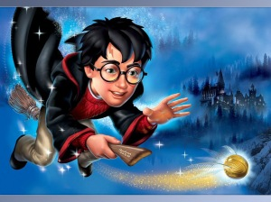 Harry Potter Doin' His Thing!