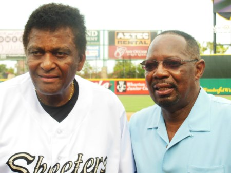 Two Men of Appropriate Pride and Life-Leveling Humility: Charlie Pride (L) and Jimmy Wynn.