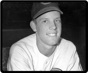 Joe Nuxhall Youngest Pitcher to Appear in an MLB Game June 10, 1944
