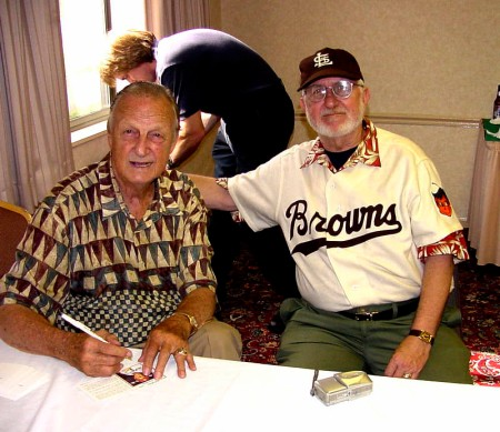 Stan the Man with Bill the Fan St. Louis, 2003
