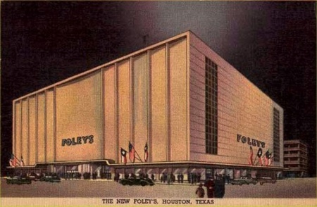 The Original Foley's ~ as it appeared on Opening Day in 1947 ~