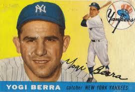 YOGI BERRA 1963 WINNER TRIS SPEAKER AWARD