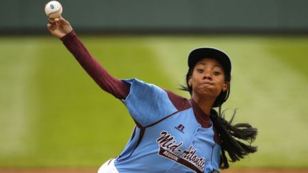 2014: MO'NE DAVIS OF PHILADELPHIA IS THE ONLY GIRL IN LITTLE LEAGUE WORLD SERIES HISTORY TO THROW A COMPLETE GAME SHUTOUT.