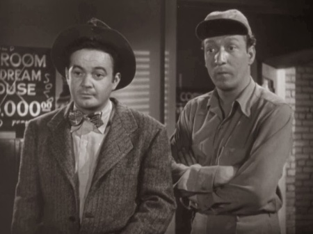 Leo Gorcey & Huntz Hall ~ Where Misplaced Words Meet Missing Thoughts. ~