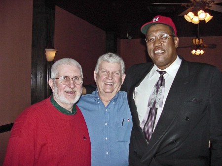 (L-R) Bill McCurdy, Johnny Storenski, and J.R. Richard Josephine's Ristorante 2002