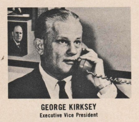 In the late 1950s and with some considerable help from the writing talents of a young cub sports reporter named Mickey Herskowitz, the indefatigable relentless force that was George Kirksey led the marketing charge for Houston's successful graduation into big league baseball.