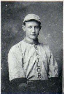 Dick Hooper Baylor University Baseball, 1912