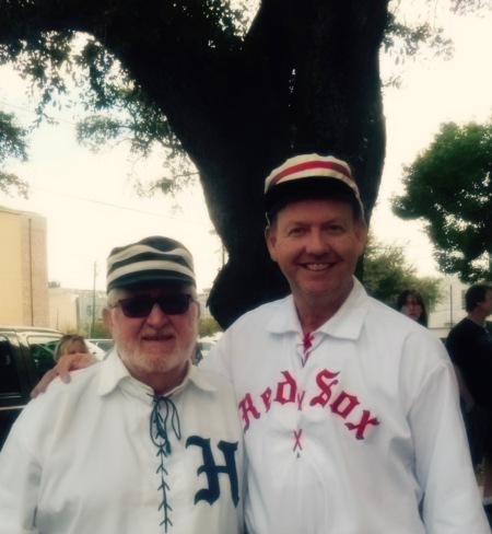 "Bill McCurdy and Bob Copus Old friendships are link an ancient oak tree. They possess the power to branch into all kinds of growth directions - especially when one of those limbs is vintage base ball and another is the history of ""God's Game""."
