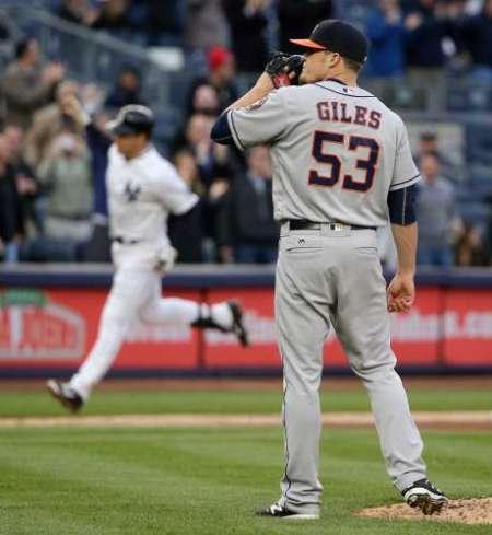 Ken Giles Relief Pitcher 2016 Houston Astros