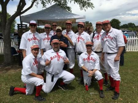 "The Barker Red Sox Sealy, Texas April 9, 2016 ""True Grit"""