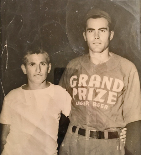Cracker SIlvers (L) and The Mystery Player