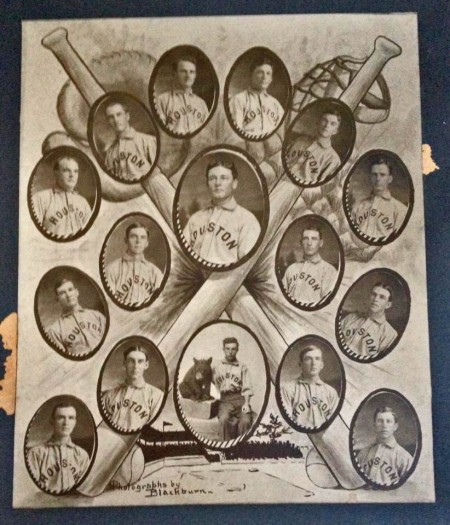 """1909/1910 pennant team photo' property of Melanie Dahms"