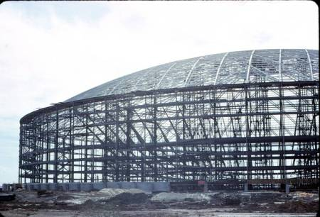 As it once was during construction, the unique architectural design of the Astrodome would again be visual in the Richards-Olschner Plan.