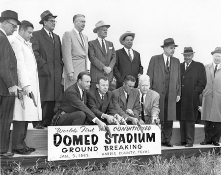 Groundbreaking for the Domed Stadium Houston, Texas January 3, 1962