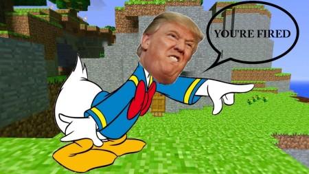 donald trump duck