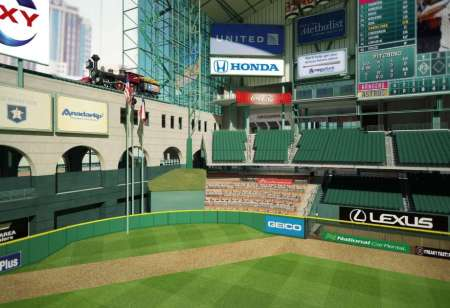 Photo #1: Current View of Deep Center Minute Maid Park 2016 By Houston Chronicle