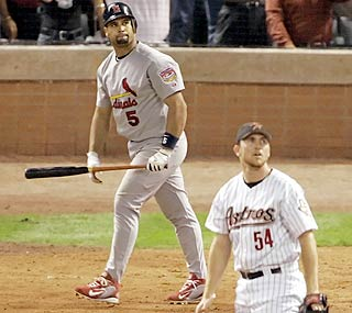 The NLCS Game 5 Bomb By Albert Pujols and Brad Lidge October 17, 2005 11 Years Ago Today