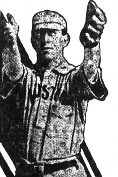 Photo of Joe Mowry, Sr. Houston Buffs (1905-1915) El Paso Herald, September 16, 1910 Found by Bill Hickman