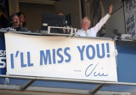 Vin Scully Says Goodbye ~ Some Goodbyes Are Never Quite Done When They Are Performed in the Name of Love..