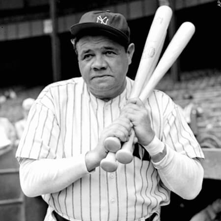 If all pitchers could hit like The Babe once did, there wouldn't be any dadgum DH rule today.