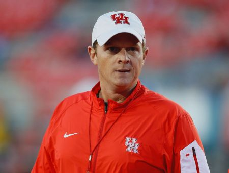 Major Applewhite New UH Cougar Football Head Coach December 9. 2016