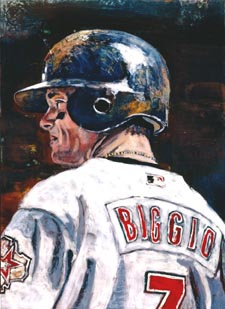 Craig Biggio By Opie Otterstad