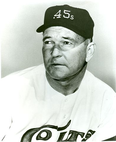 Harry Craft First Manager of the 1962 Houston Colt .45s; Last Manager of the 1961 Houston Buffs.
