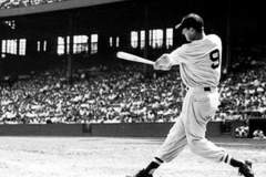 Ted Williams Boston Red Sox 1939-42, 1946-60.