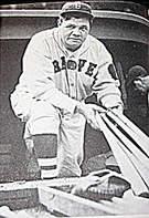 Babe Ruth Boston Braves 1935