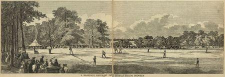 Elysian Fields ~ Hoboken NJ About 1845