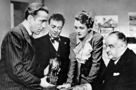 """Now listen up, Birds. This is the trophy we get to keep, if we win today. I you don't recognize it, you haven't been paying much attention to all that's been happening since made ""The Maltese Falcon"" back in 1941."" Sam Spade"