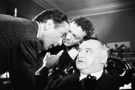 """I suspect everyone, Gutman! .... And by the way, don't call me shirley!"" - Sam Spade"