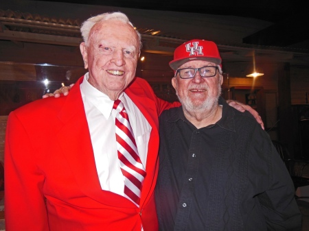 Former UH Football Coach Bill Yeoman 1962-1986 and Bill McCurdy