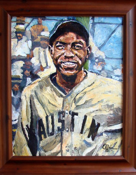 Willie Wells By Opie Ottersttad 2007 Upon his induction into the Texas Baseball Hall of Fame