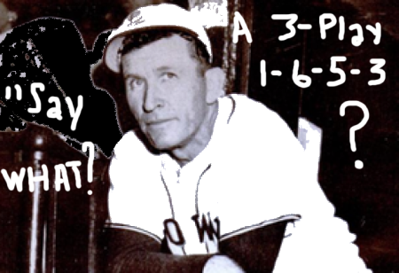 Zach Taylor, 1948 Manager, St. Louis Browns