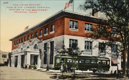 Union Station in Houston Opened March 1, 1911 The Ballpark at Union Station Later Opened on March 30, 2000