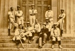 William Edward White on the 1879 Brown baseballteam.