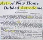 Astrodome – 1(4)
